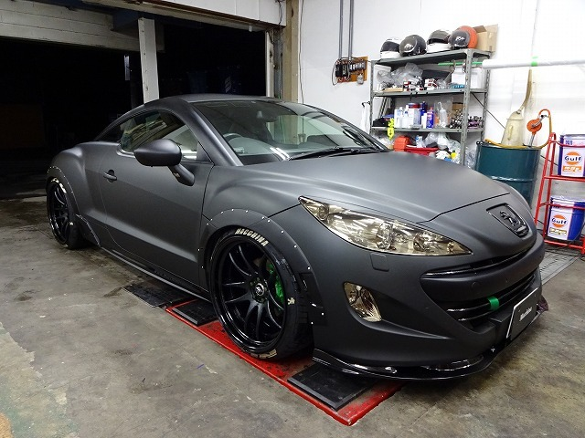 peugeot rcz over fender ( wheel arch extensions ) - general